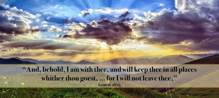 Genesis 28 15 English
