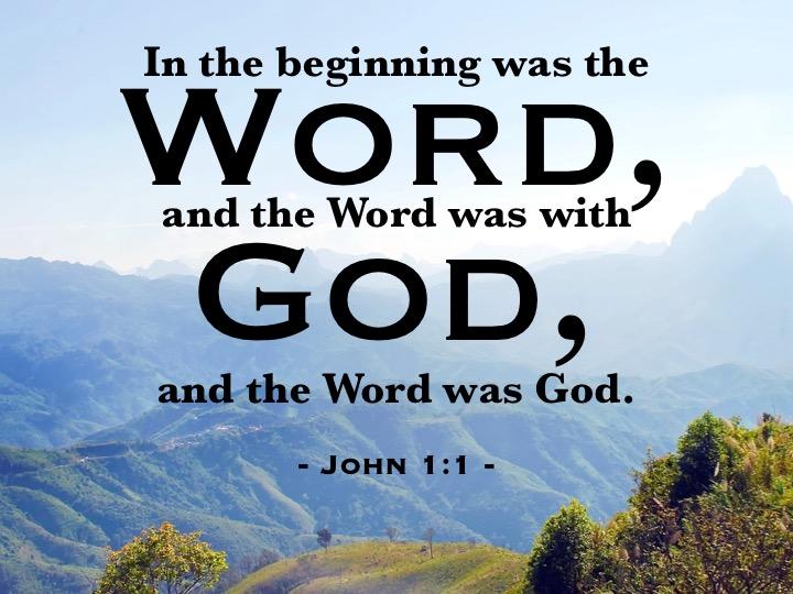 John 1-1 English