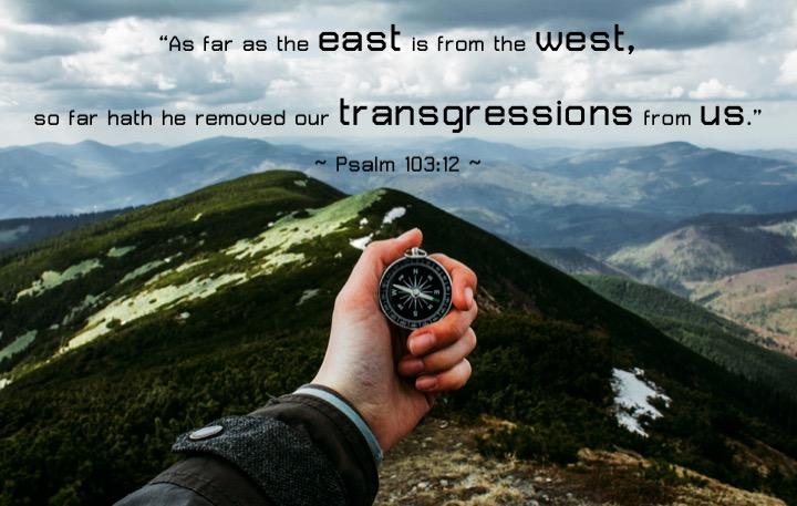 Psalm 103 12 English