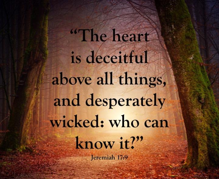 Jeremiah 17-9 English