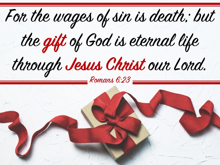 Romans 6.23 English