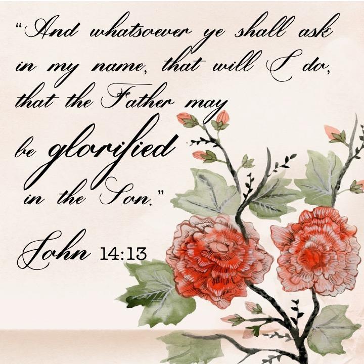 John 14 13 English