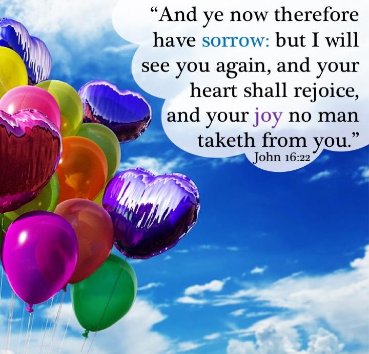 John 16 22 English