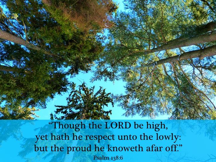 Psalm 138 6 English