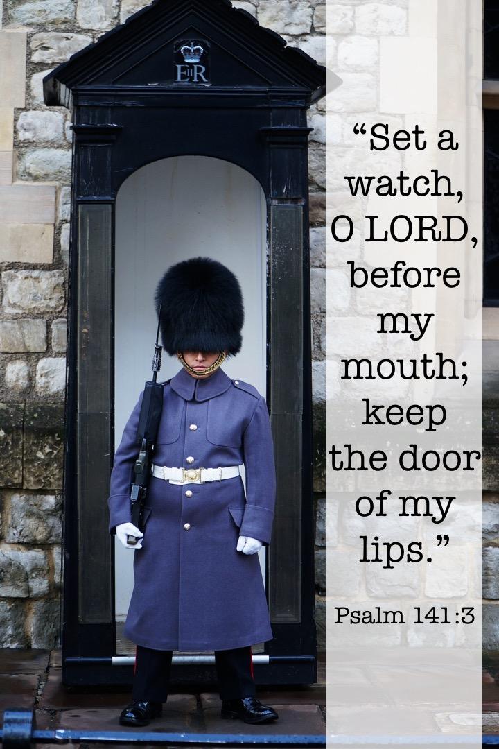 Psalm 141 3 English