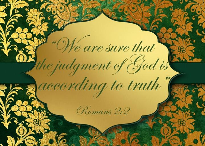 Romans 2 2 English