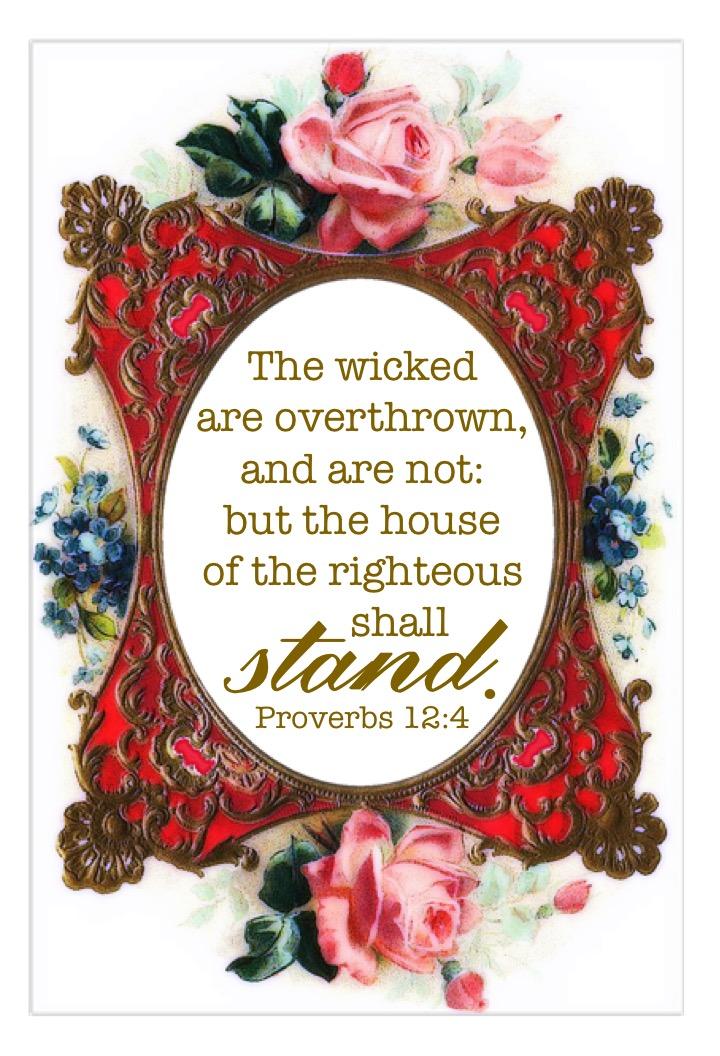 Proverbs 12:4 KJV – KJV Bible Verses