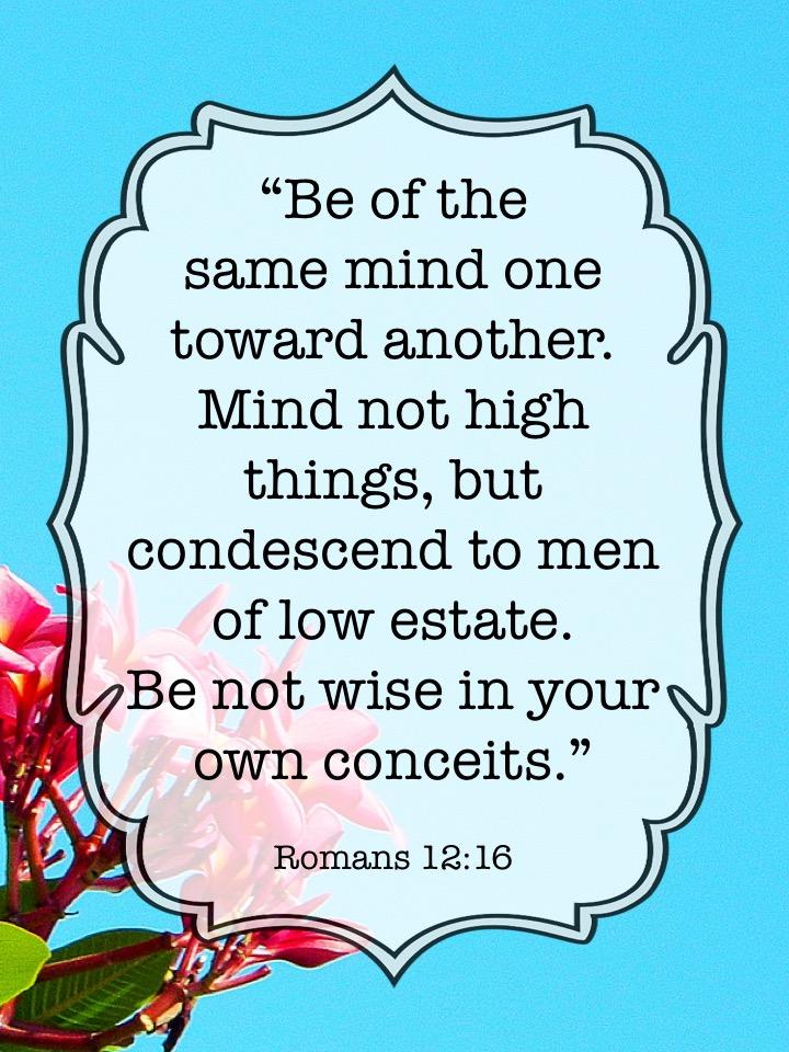 Romans 12 16 English