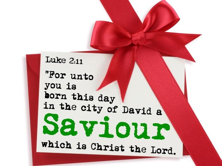 Luke 2.11 English