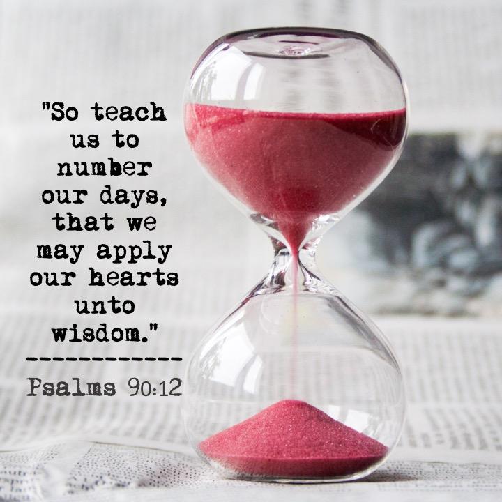 Psalm 90.12 English