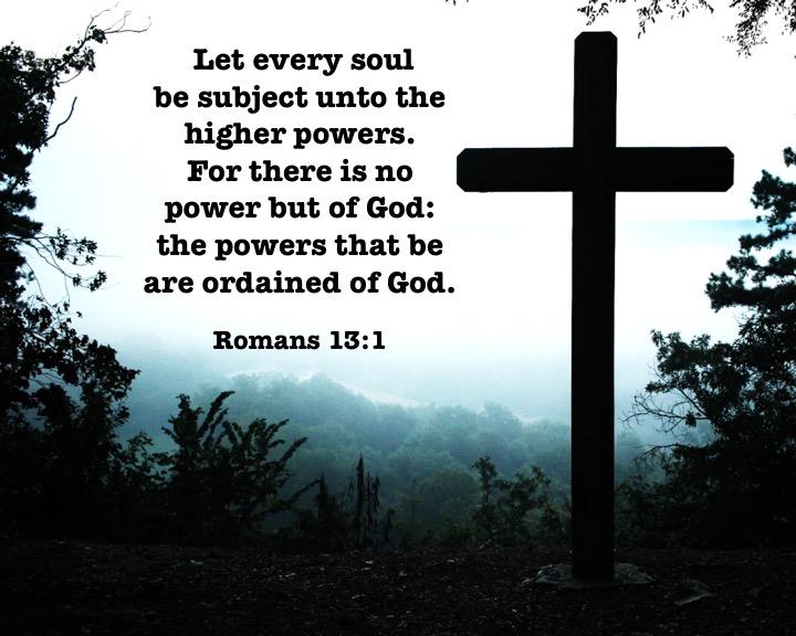 Romans 13 1 English