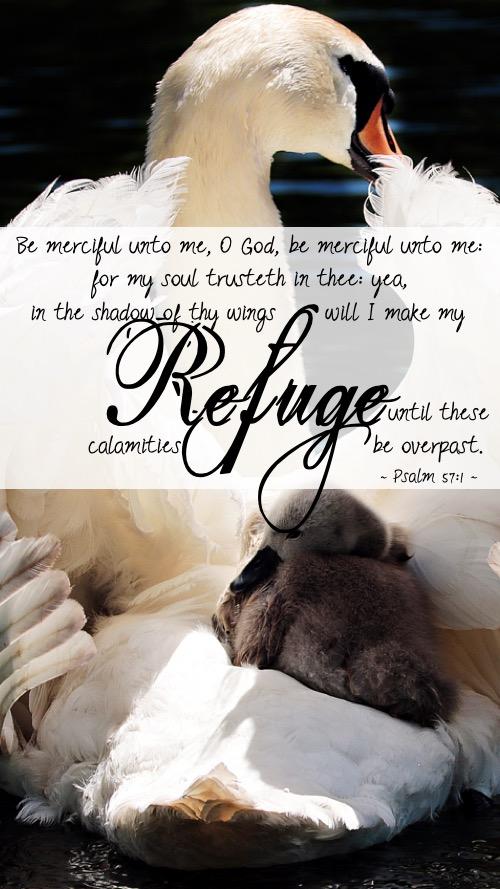 psalm 57-1 kjv
