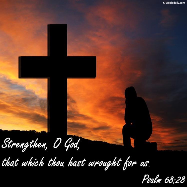 Psalm 68 28 KJV