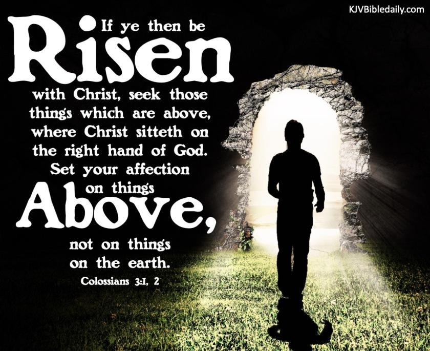 Colossians 3.1 KJV