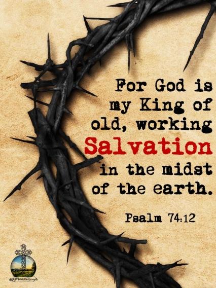 Psalm 74:12 KJV – KJV Bible Verses