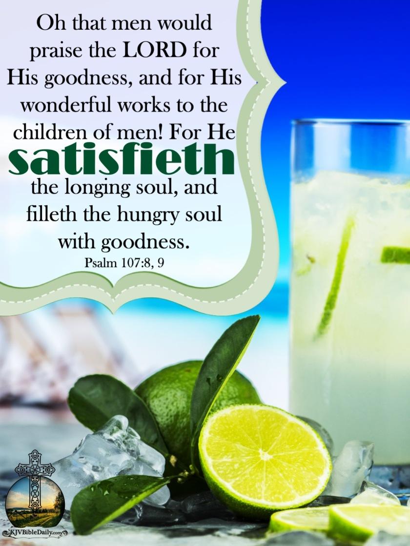 Psalms 107-8, 9 KJV