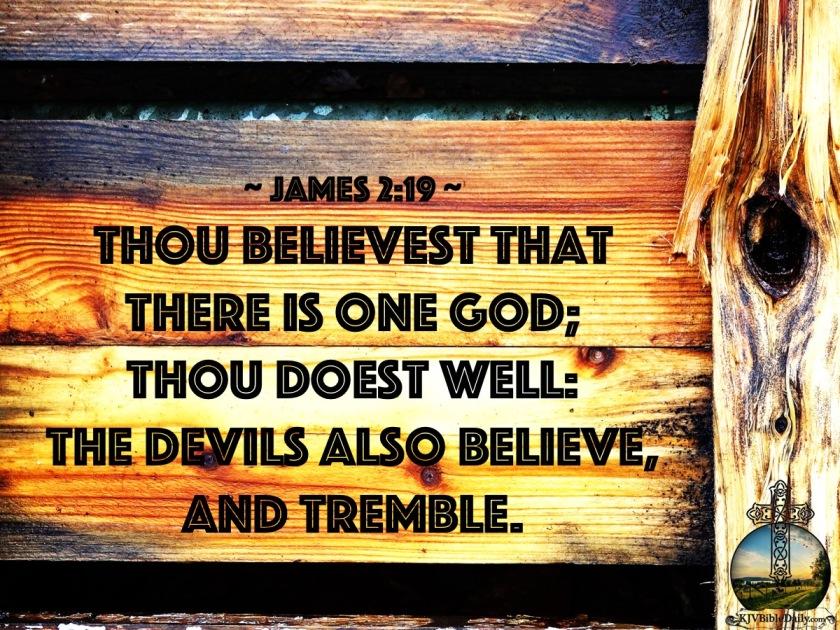 James 2:19 KJV – KJV Bible Verses