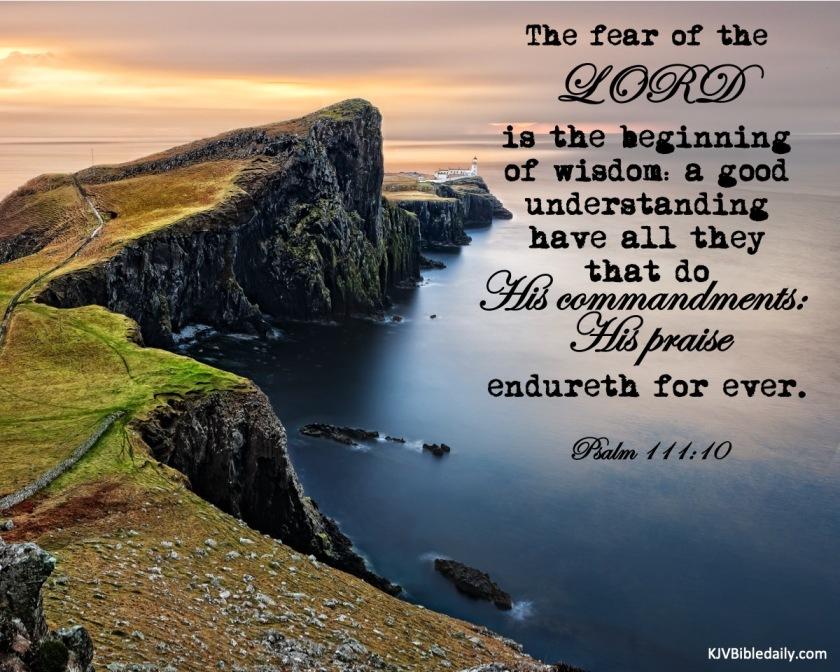 Psalm 111 10 KJV