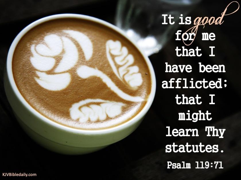 Psalm 119 71 KJV