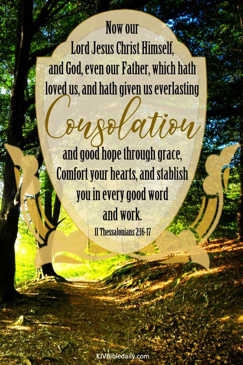 II Thessalonians 2-16-17 KJV