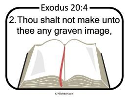 Commandment 2 KJV