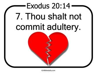 Commandment 7 KJV