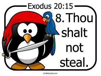 Commandment 8 KJV