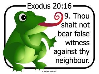Commandment 9 KJV