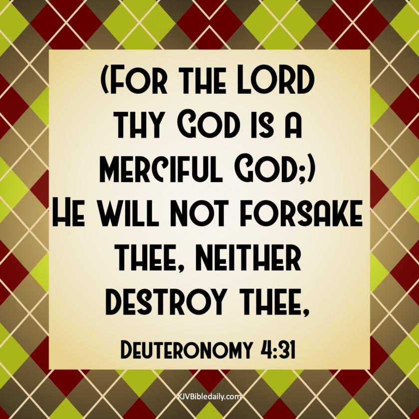 Deuteronomy 4-31 KJV