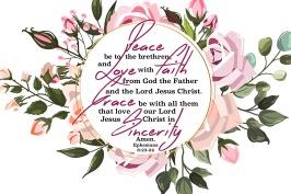 Ephesians 6-23-24 KJV