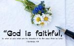 I Corinthians 1.9 English