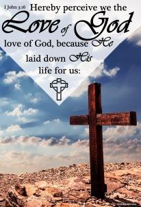 I John 3.16 KJV
