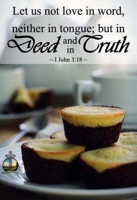 I John 3.18 KJV