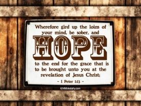 I Peter 1-13 KJV