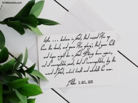 I Peter 1-21, 23 KJV