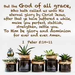 I Peter 5 10, 11 KJV