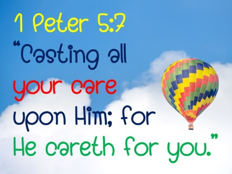 I Peter 5.7 English