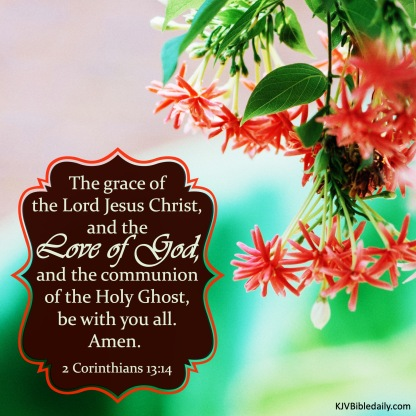 II Corinthians 13 14 KJV
