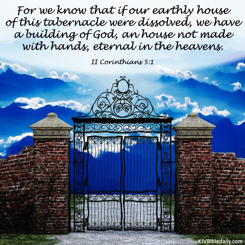 II Corinthians 5-1 KJV