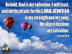 Isaiah 12-2 KJV