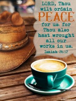 Isaiah 26-12 KJV