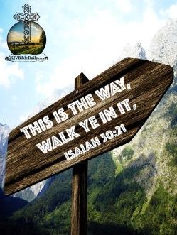 Isaiah 30-21 KJV