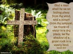 Isaiah 32-2 KJV