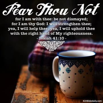 Isaiah 41-10 KJV