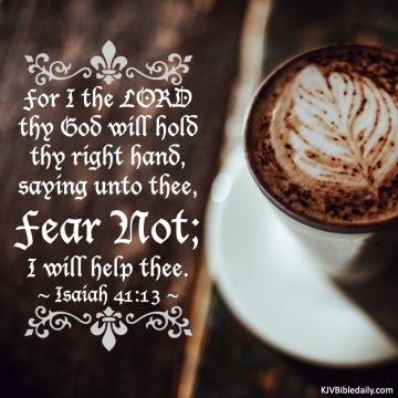 Isaiah 41 13 KJV