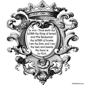 Isaiah 44-6 KJV
