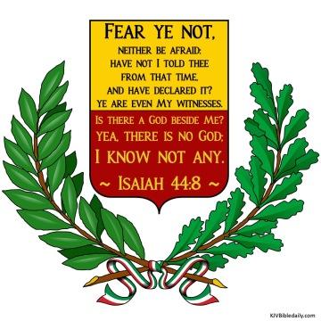 Isaiah 44-8 KJV