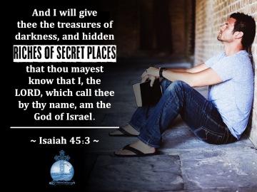 Isaiah 45-3 KJV