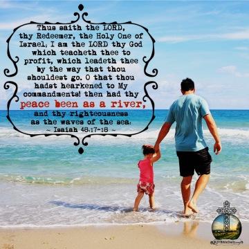 Isaiah 48-17-18 KJV