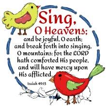 Isaiah 49-13 KJV